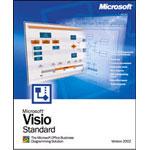 微软Visio 2002(中文标准版) 办公软件/微软
