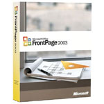 微软FrontPage 2003简体中文版 办公软件/微软