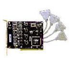 MOXA C104P(4口232卡) 多用户卡/MOXA