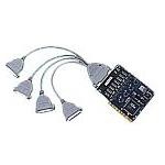 MOXA C104HS/PCI(4口232卡高速突波) 多用户卡/MOXA