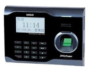 中控智慧(ZKTeco)U160 WIFI无线高速网络指纹考勤机打卡机  促销送好礼