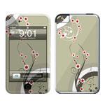 冠犀ideaSkin 苹果 iPod touch 个性皮肤  花藤日本风 数码配件/冠犀