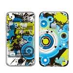 冠犀ideaSkin 苹果 iPhone 3G 个性皮肤 潮流蓝色几何图 数码配件/冠犀