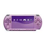 索尼PSP3005 灵魂能力:毁灭宿命 丁香紫PSP主机同捆版 游戏机/索尼