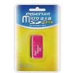 品胜TF(microSD)读卡器 (红色) 读卡器/品胜