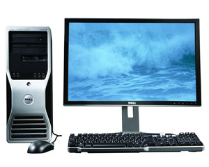 戴尔Precision T3500(Xeon W3503/4GB/320GB)图片