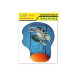 吉贝尔JM008B卡通篮球护腕垫 鼠标垫/吉贝尔
