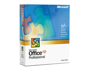 微软Office XP(英文标准版)图片