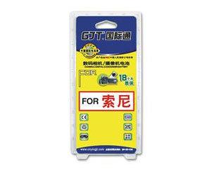 GJT国际通数码摄像机锂电池(索尼G-FA70)图片