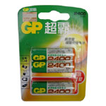 GP超霸2400毫安5号AA充电电池3粒 电池/GP超霸