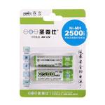 圣奇仕2500毫安5号镍氢充电电池(2粒) 电池/圣奇仕