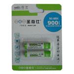 圣奇仕900毫安7号镍氢充电电池(2粒) 电池/圣奇仕