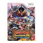 Wii游戏大怪兽战争 终极竞技场DX 终极战士大集结 游戏软件/Wii游戏