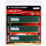 广颖电通12GB DDR3 1066(SP012GBLTU106V32)套装 内存/广颖电通