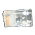 腾达超五类屏蔽水晶头(8P8C)F型TD1014F 综合布线/腾达