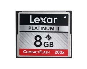 雷克沙白金二代 CF 200X(8GB)图片