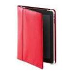 ODOYOiPad 折合式红色真皮保护套