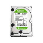西部数据WD 2.5TB 5400转 64MB SATA2 绿盘(WD25EZRS) 硬盘/西部数据