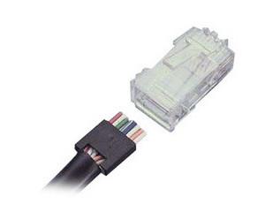 AMP RJ45电缆插头5-554169-3