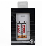 SSK飚王2槽 U极充充电套装(2×2300mAh) 数码配件/SSK飚王