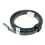 山泽发烧扁平欧版HDMI线 2米 转接数据线/山泽