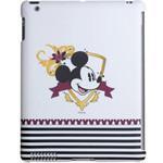 迪士尼IPA2030427WD iPad2专用米奇之窗保护壳 (白) 苹果配件/迪士尼