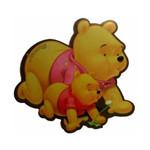 迪士尼SBD-188(黄)双维尼(趴)鼠标垫 鼠标垫/迪士尼