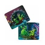 迪士尼DSBD501(彩色) 鳄鱼爱洗澡情侣版鼠标垫 鼠标垫/迪士尼