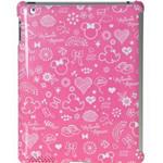 迪士尼IPA2030453WD iPad2专用米妮梦语保护壳 (粉) 苹果配件/迪士尼