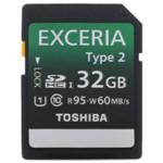 EXCERIA Type Ⅱ型 SDXC卡 UHS-1 Class10(32GB)