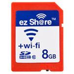 易享派Wi-Fi SDHC卡 Class10(8GB) 闪存卡/易享派