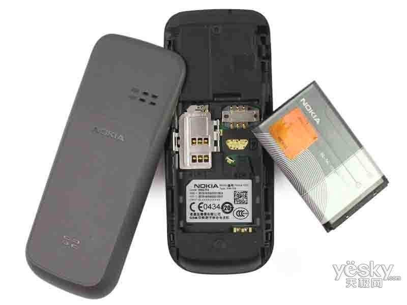 诺基亚1010手机怎么样,好象可以上两张卡,是双卡双待的吗图片