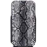 摩米士苹果 iPhone 4S/4 翻盖式水蛇纹保护套 苹果配件/摩米士