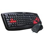 达尔优TK503(PS/2)+TM075(PS/2)卡丁车职业战队版网吧套装 键鼠套装/达尔优