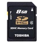东芝SDHC Class4(8GB)/SD-K08GR7W4 闪存卡/东芝
