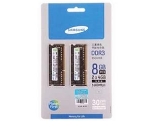三星8GB DDR3 1600(笔记本)图片