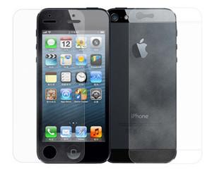 萝莉iphone5 高清/磨砂双面手机贴膜背面三段式保护膜 TM5006图片