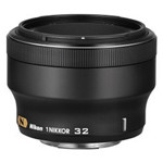 尼康1 尼克尔 32mm f/1.2 镜头&滤镜/尼康