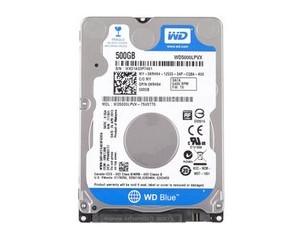 西部数据500GB 5400转 8M SATA3 蓝盘(WD5000LPVX)图片