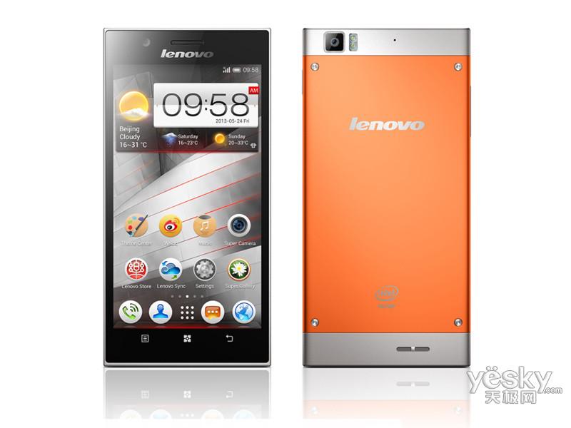 联想k900 橙色版图片欣赏