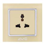 LVC 多功能三孔带保护门插座LVC6503B 电源设备/LVC