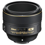 尼康AF-S尼克尔58mm f/1.4G 镜头&滤镜/尼康