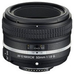 尼康AF-S NIKKOR 50mm f/1.8G(特别版) 镜头&滤镜/尼康