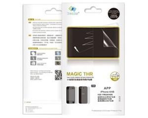 邦克仕 苹果iPhone 4/4S MAGIC THR 5H超强防刮套装系列保护贴膜图片