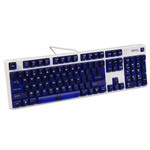 明基KX890天机镜彩色版青轴机械键盘 键盘/明基