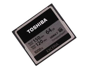 东芝EXCERIA 1000X(64GB)/CF-064GTR8A图片