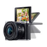 三星NX3000套机(16-50mm OIS,SEF-8闪光灯) 数码相机/三星