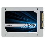 CRUCIAL CT256M550SSD1RK 256G 2.5英寸SSD固态硬盘