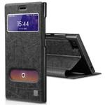 奇克摩克 小米M3魅彩系列双窗预视手机壳保护套 手机配件/奇克摩克