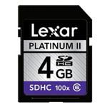 雷克沙白金二代 SDHC 100x(4GB) 闪存卡/雷克沙